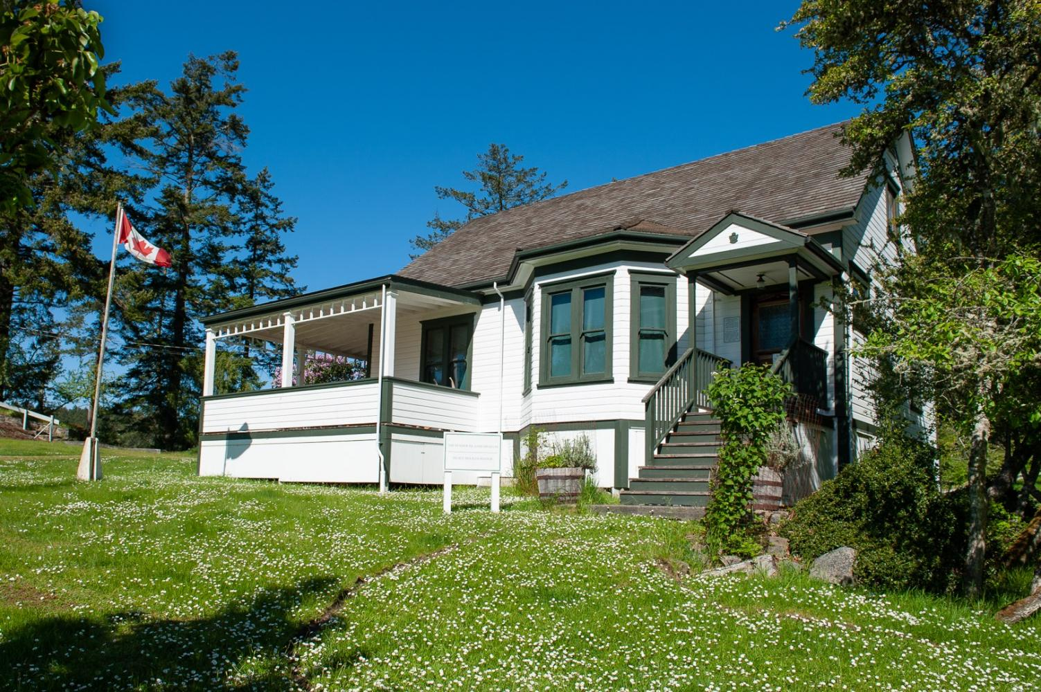 Roe House Pender Island Museum