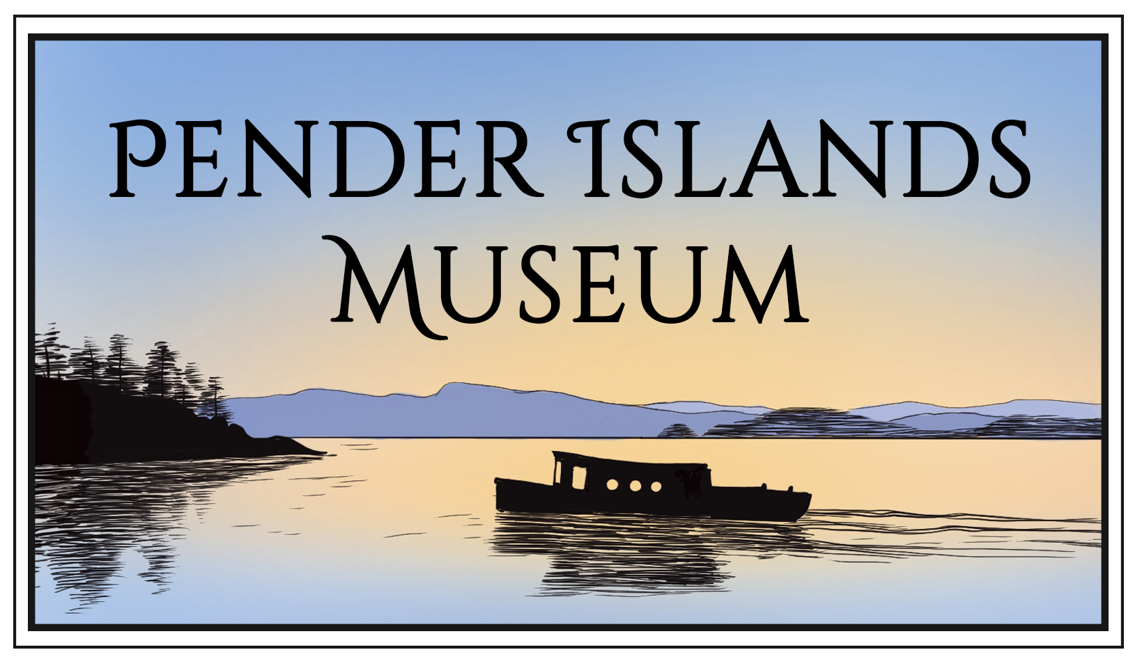 Pender Islands Museum Logo
