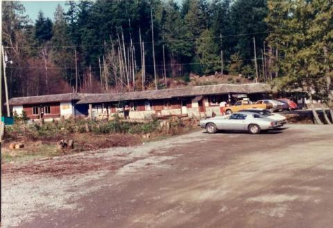 Driftwood Centre Late 70s Pender Island Museum