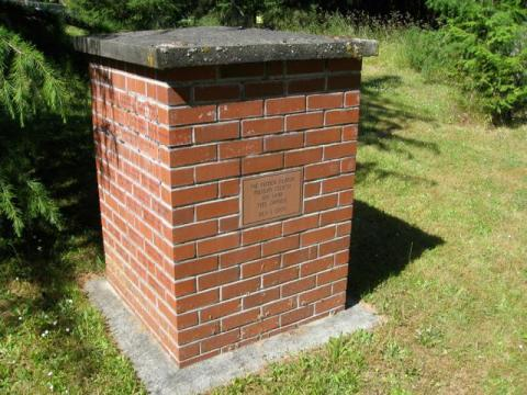 Time Capsule at Pender Island Cemetery by Pender Island Museum